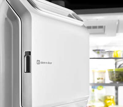 36 Inch Wide 4 Door French Door Refrigerator With Steel