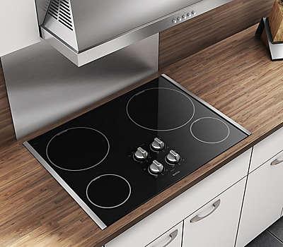 36 4 burner black 4 burner elements cooktop mec7430bb maytag. Black Bedroom Furniture Sets. Home Design Ideas
