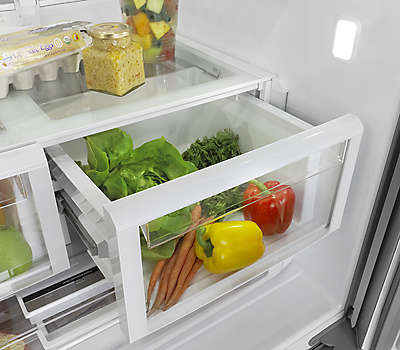36 Inch Wide French Door Refrigerator With Powercold